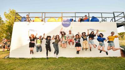 Simte emoția festivalului alături de NIVEA FEEL