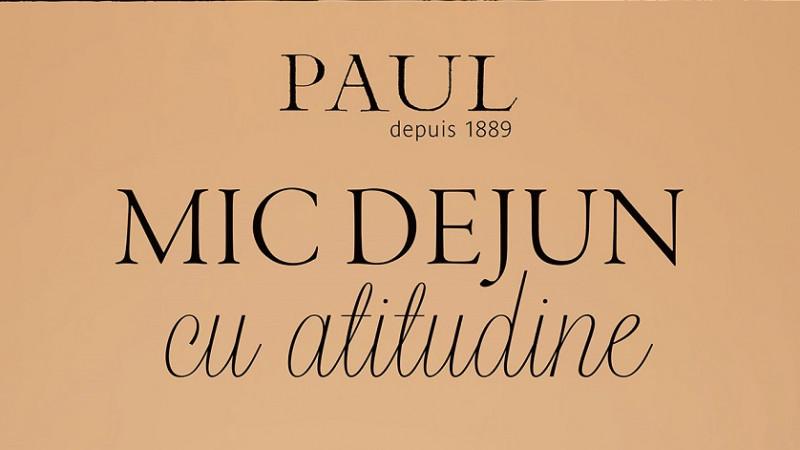 PAUL lansează meniuri personalizate pentru un Mic Dejun cu Atitudine