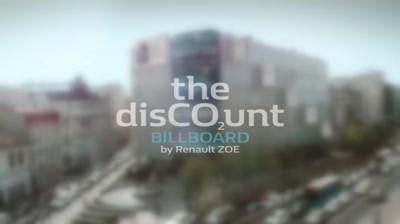 Renaul - The DisCO2unt Billboard.