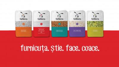 Furnicuta. Strategie de brand, identitate de brand, design ambalaj, comunicare