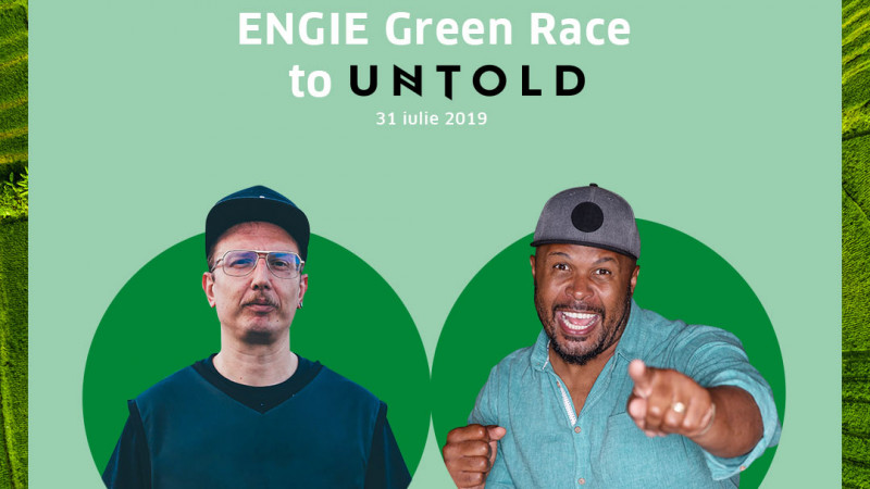 ENGIE lansează ,,Green Race to UNTOLD''pentru o experiență memorabilă la cel mai mare festival al verii