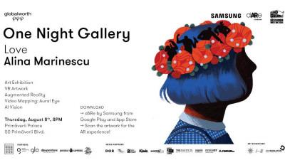One Night Gallery // Love Alina Marinescu.A XI-a ediție, în grădina unui palat istoric