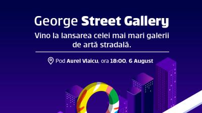 One Night Gallery anunță primul concert augmentat din România în cadrul lansării celei mai mari galerii de artă stradală