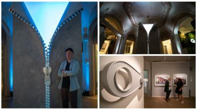 """Alex Chinneck, artistul iluziilor arhitecturale. """"Ceea ce creez e un răspuns la ceea ce ne înconjoară"""""""