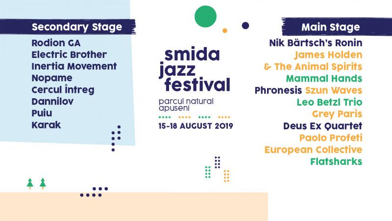 Joia aceasta începe cea de-a 4-a ediție a Smida Jazz Festival în Parcul Natural Apuseni