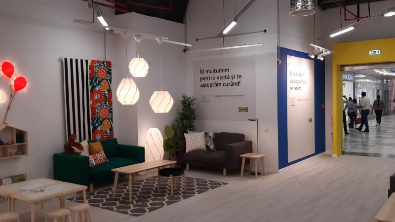 IKEA a deschis un punct de colectare a comenzilor online în vestul Bucureștiului