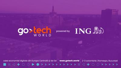 ING devine partenerul principal al GoTech World, evenimentul de business cunoscut anterior ca Internet & Mobile World