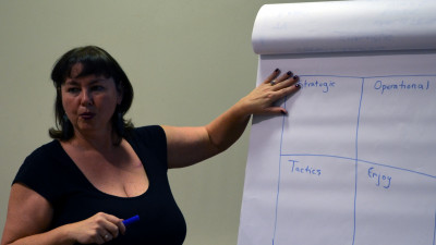 3 lucruri de care trebuie să ții cont în crearea unei strategii de comunicare oferite de expertul internațional, Kelly Freeman