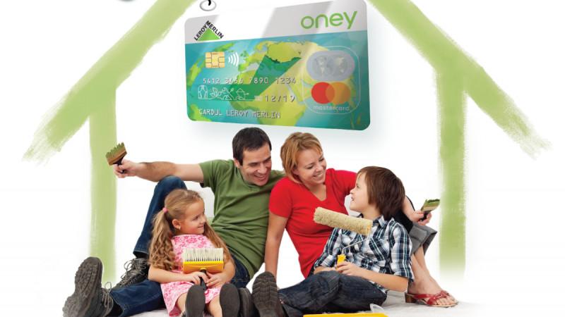 Ai 0% dobândă la cumpărături în 12 rate din magazinele LEROY MERLIN, prin cardul de cumpărături Oney