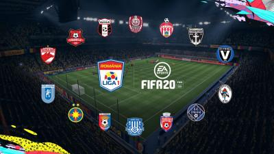 Electronic Arts și Liga Profesionistă de Fotbal din România anunță că Liga I va fi inclusă în EA SPORTS FIFA 20