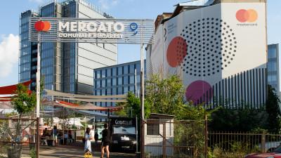 MercatoComunale și Mastercard își așteaptă oaspeții în satul de vacanță din centrul capitalei