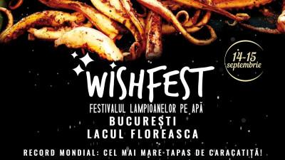 Record mondial de live cooking, pe 14 septembrie la WishFest- Festivalul Lampioanelor pe Apă