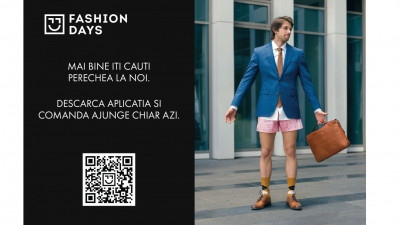 [Case Study] Mai bine descarca aplicatia! Noua campanie de download app Fashion Days