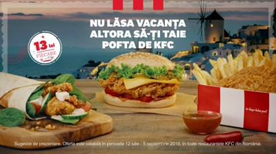 KFC - Nu lasa vacanta altora sa iti taie pofta de KFC!