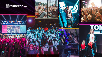 Tubecon, festivalul international al creatorilor independenti de continut de pe Youtube, Facebook, Instagram si TikTok se pregateste de lansarea din Romania