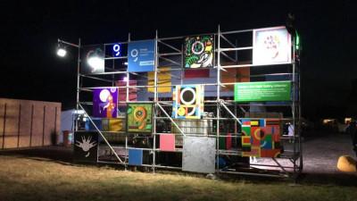 Prima instalație de AI, creată de One Night Gallery, prezentată de brand comercial în cadrul unui festival