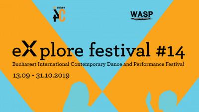 eXplore festival #14, deschis la București cu premiera spectacolului Anthropology, în data de 13 septembrie 2019