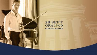 Ediția a X-a a Concursului Internațional de Dirijat Jeunesses Musicales București aduce pe scena Ateneului Român vioara lui Yehudi Menuhin