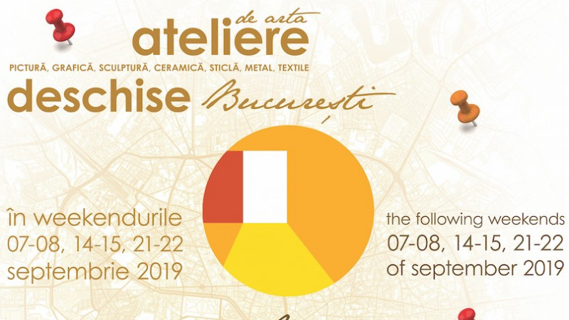 """Acces la artă și spații de creație din toate domeniile artistice. Weekendul al doilea """"Ateliere de Artă Deschise în București – Ediția Enescu"""""""