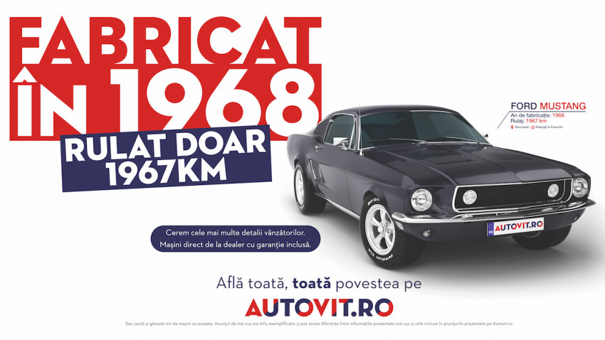 Toată, toată povestea din noua campanie Autovit.ro semnată de Publicis România
