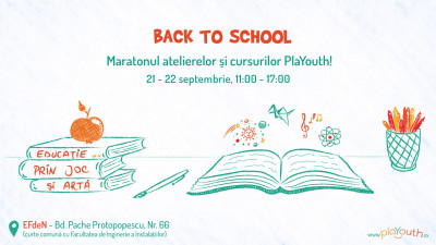 Back to School - Maratonul Educației Alternative