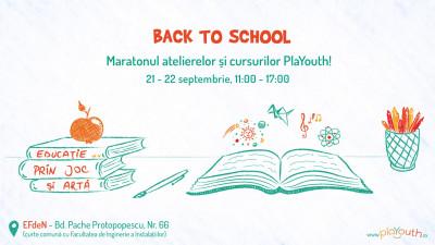 Back to School - Maratonul Educației Alternative