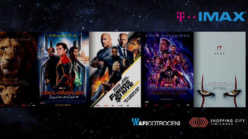 IMAX Day: cele mai tari filme ale anului se întorc duminica aceasta, doar pentru o zi, la un preț special