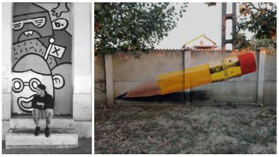 [Pe strada lui George] Costi Carlaont: Am inceput sa fac graffiti pe gardul parintilor cu spray-uri auto