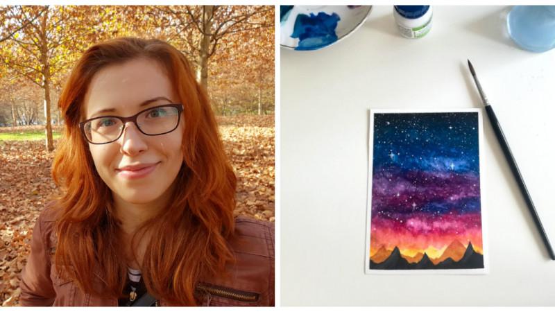 [Obsesii part-time] Adina David (Golin): Desenul mă ajută să am răbdare, să nu mă mai agit atât de tare și să fiu mai îngăduitoare cu mine
