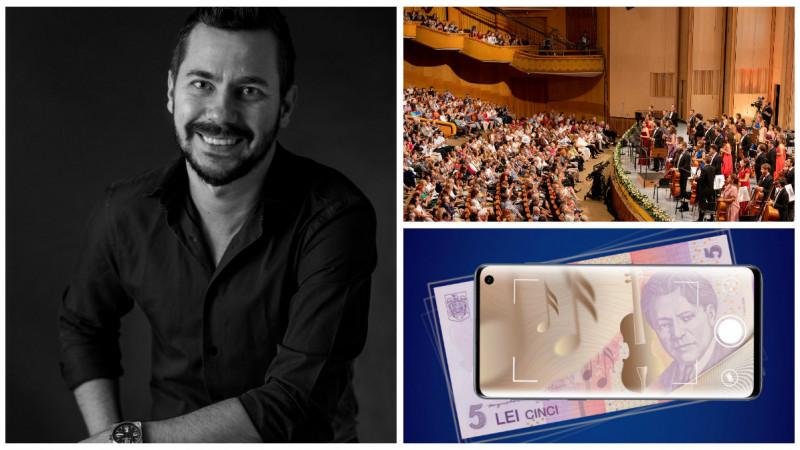 Primul concert din lume într-o bancnotă. Provocarea Samsung și Leo Burnett: Să permitem întregii țări să experimenteze Festivalul Enescu