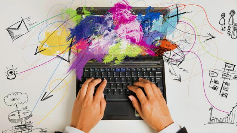 Creativitatea nu este un proces caracteristic doar artiștilor plastici, ci și celor digitali