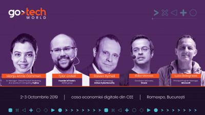 Experți de la Tesla, Oracle, Fujitsu, Airbus și Microsoft prezintă pe scenele GoTech World