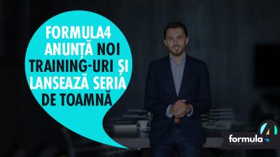 Formula4 anunță noi training-uri și lansează seria de toamnă