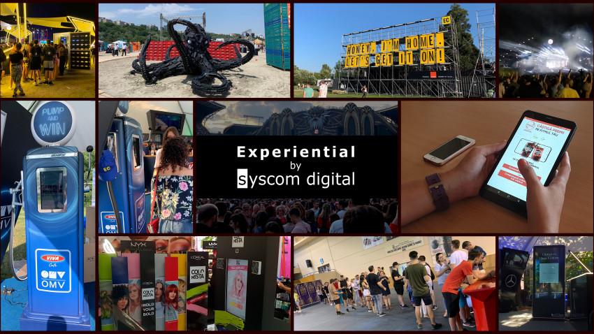 Cele mai tari activări experiențiale de brand au fost implementate la festivalurile verii de divizia Experiential by Syscom Digital