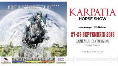 Karpatia Horse Show deschide drumul către Jocurile Olimpice de la Tokyo 2020. Spectacolul unic al echitației de top mondial revine pentru a VI-a Ediție la Domeniul Cantacuzino de la Florești