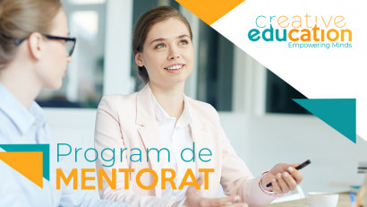 Creative Education lansează programul de mentorat pentru studenți
