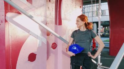 [Pe strada lui George] Ana Bănică: Fiind o zonă plină de construcții, mașini, zgomot și agitație, am hotărât să creez o mică oază de liniște pentru chicoteală