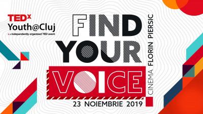 TEDxYouth@Cluj are loc în noiembrie 2019 și este dedicat tinerilor care fac lucrurile să se întâmple