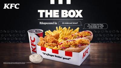 KFC România reinventează convenționalul odată cu lansarea Crispy Hot Dog – un hot dog mai altfel, dar #pebune