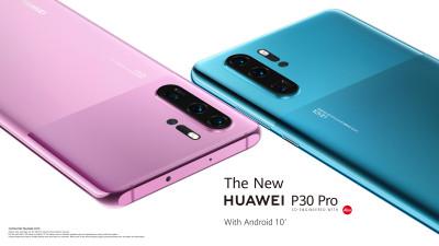 Seria HUAWEI P30 redefinește estetica smartphone-ului prin design și culori moderne