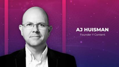 AJ Huisman, speaker WeContent 2019: Companiile B2B stau pe mine de aur de conținut