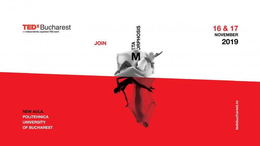 #TEDxBucharest11 - Metamorphosis se intampla pe 16 si 17 Noiembrie. Line-up-ul este acum complet