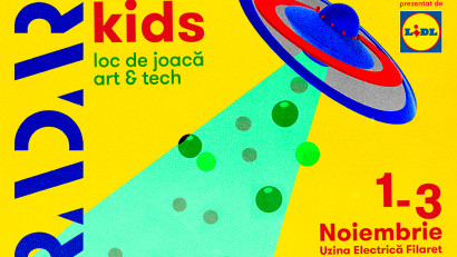RADAR Kids aduce un loc de joacă art & tech pentru 3 zile în București