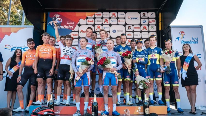 Tricourile campionilor de la Turul României expuse, în premieră, la Sports Business Academy