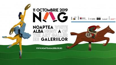 Vineri, 11 octombrie, Noaptea Albă a Galeriilor celebrează 13 ani în București + 13 orașe din țară