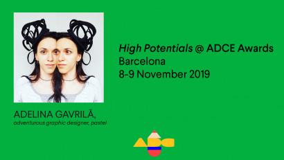 Adelina Gavrilă participă la High Potentials, ADC Europe Awards 2019