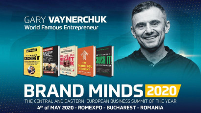 World-famous entrepreneur Gary Vaynerchuk is coming to BRAND MINDS 2020
