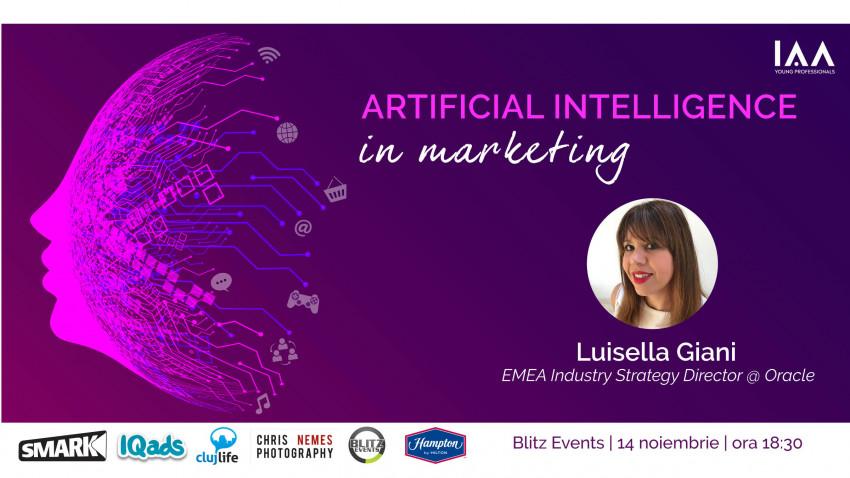 """IAA Young Professionals Cluj organizează un eveniment despre Artificial Intelligence în Marketing: """"Seara YP – AI In Marketing"""""""