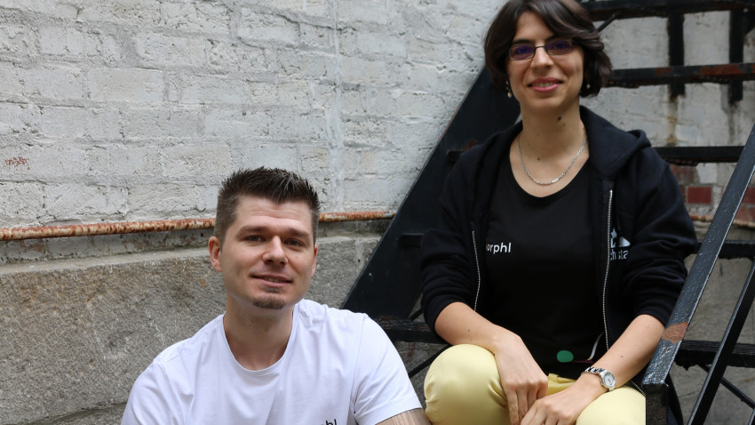 [De la prietenie la business] Ciprian Borodescu și Alexandra Anghel, MorphL - inteligență artificială pe gustul companiilor de e-commerce