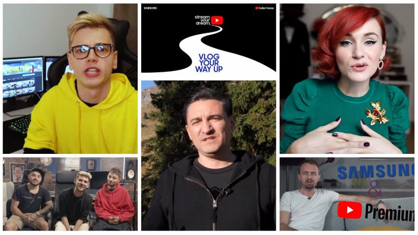 Drumul unui vlogger de la vis la vizualizări trece pe la Stream Your Dream